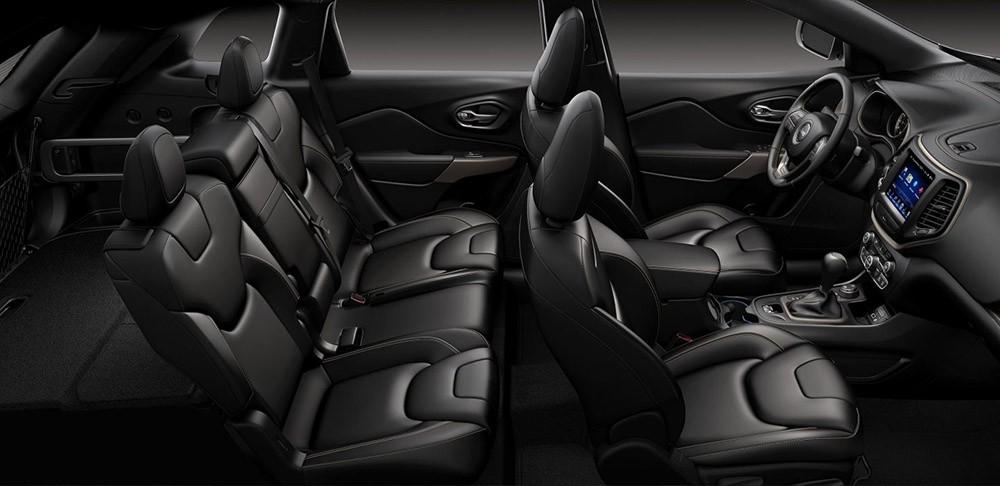 2017 Jeep Cherokee Interior seats
