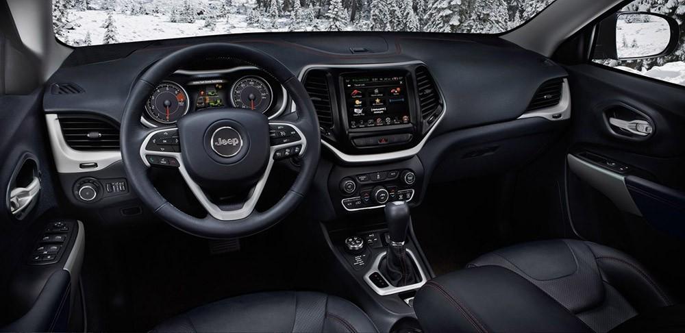 2017 Jeep Cherokee steering wheel