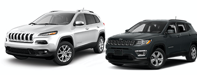 $199/mon. Lease on Jeep Compass or Cherokke- YOU Choose!