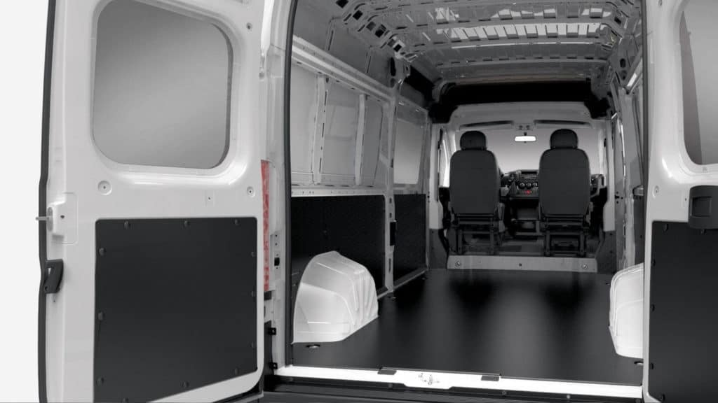 2018 Ram ProMaster Cargo Space