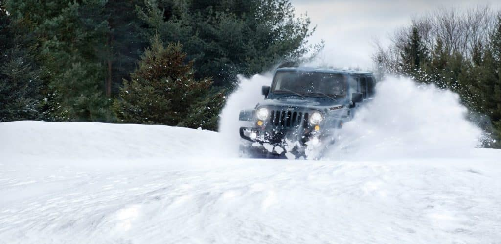 2018 Jeep Wrangler Winter