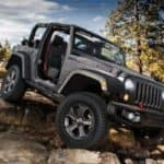2018 Jeep Wrangler In Mountains