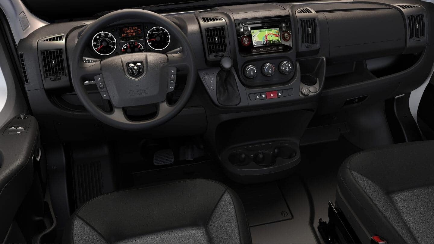 2018 New RAM Promaster Interior