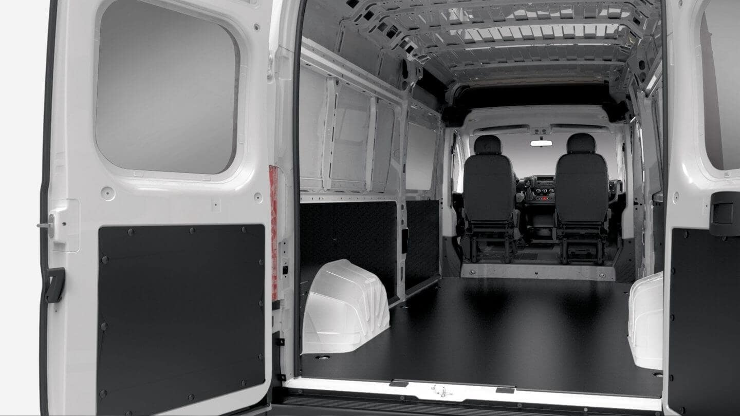 Larry Roesch 2018 RAM Promaster Cargo Space
