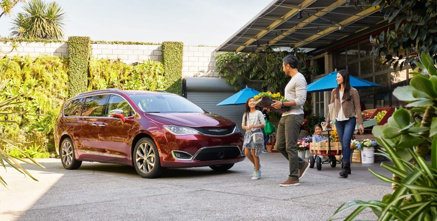 2019 Chrysler Pacifica Financing Larry Roesch