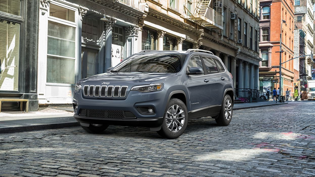 The New Jeep Cherokee can be used as a family or business vehicle