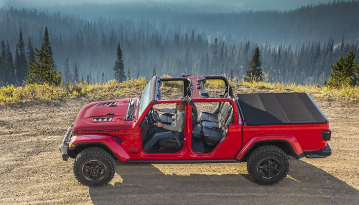 The 2020 Jeep Gladiator has best in class capacity