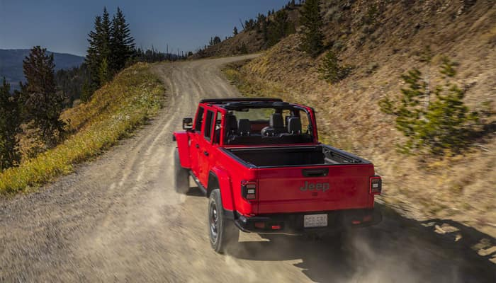 The 2020 Jeep Gladiator is prepared for any condition you might encounter
