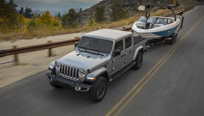 The 2020 Jeep Gladiator can tow any payload