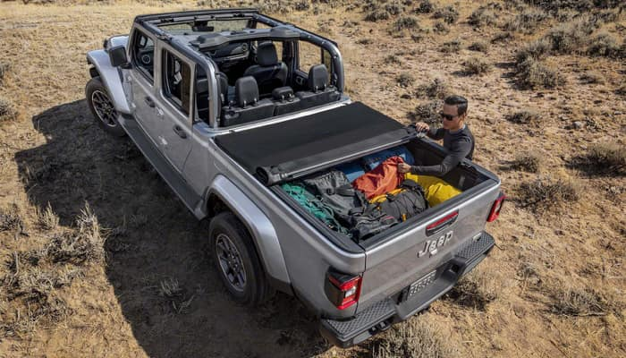 The 2020 Jeep Gladiator has a stylish exterior