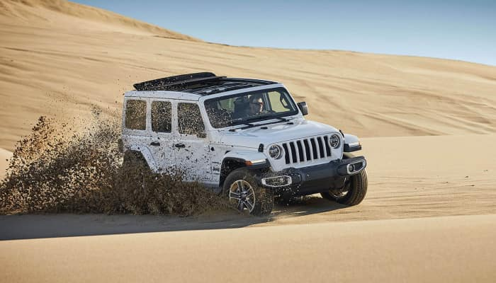 The 2019 Jeep Wrangler JL is ready for any terrain
