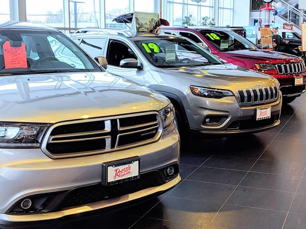 New Chrysler Jeep Dodge RAM Vehicles For Sale In DuPage County, IL