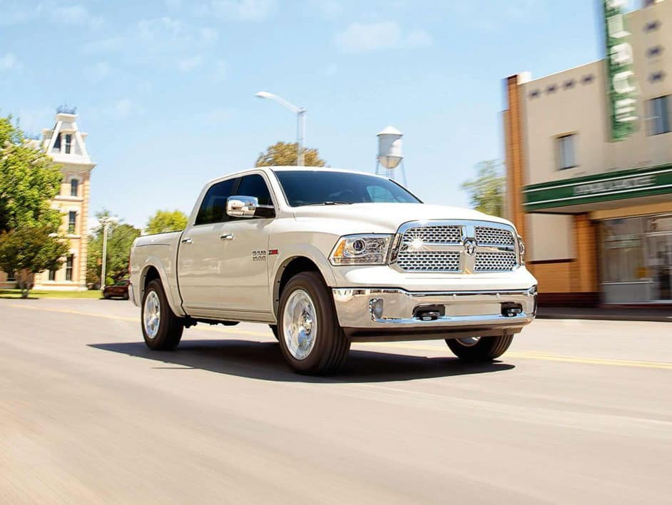 The rugged exterior of the 2019 RAM 1500
