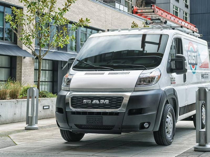 Exterior of the 2019 RAM ProMaster