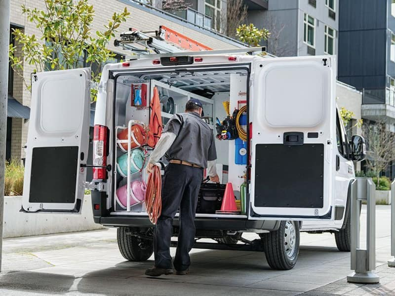 The 2019 RAM ProMaster comes loaded with the latest technology features