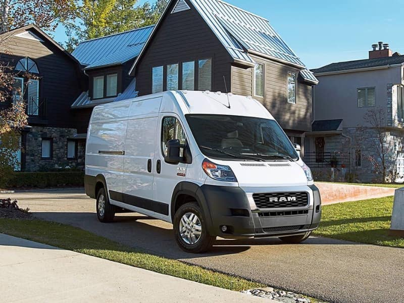 The exterior of the 2019 RAM ProMaster