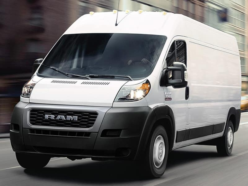 The high performance 2019 RAM ProMaster