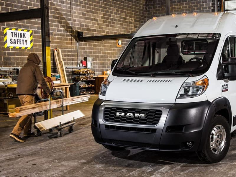 Stay safe inside the 2019 RAM ProMaster
