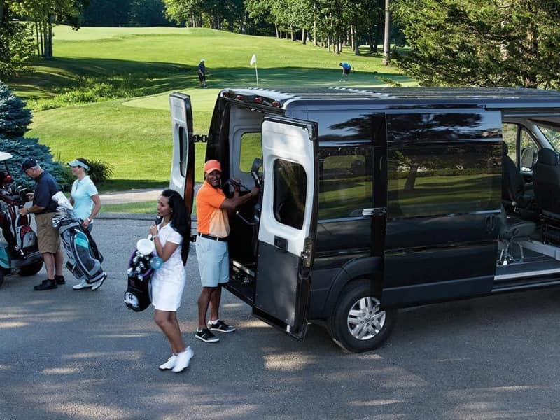 The 2019 RAM ProMaster comes with modern technology features