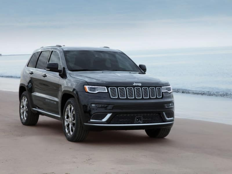 The rugged exterior of the 2020 Jeep Grand Cherokee