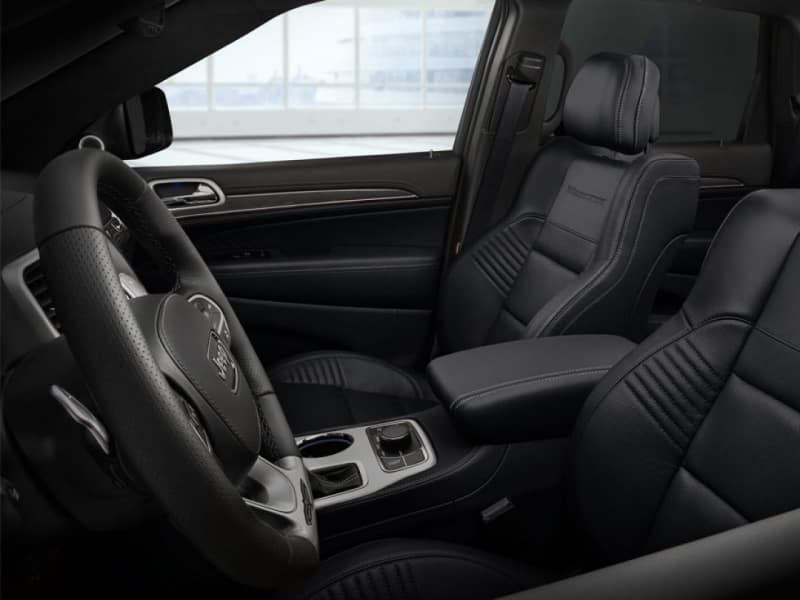 The spacious interior of the 2020 Jeep Grand Cherokee