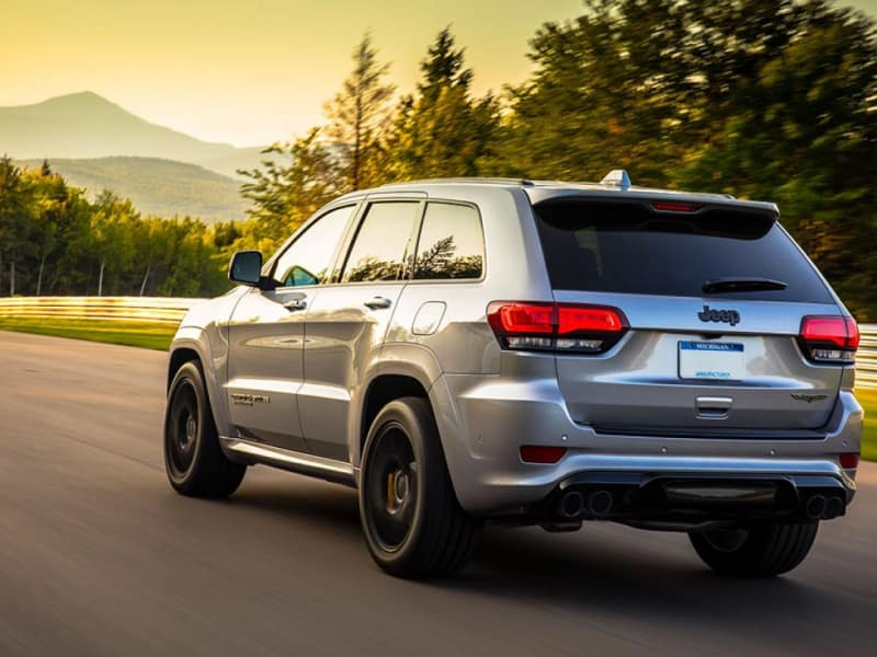 Stay safe inside the 2020 Jeep Grand Cherokee