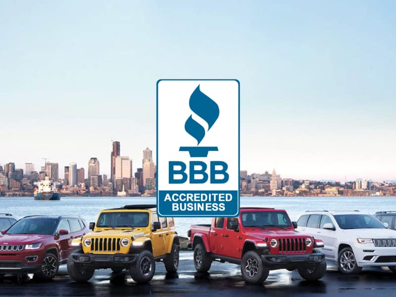 Roesch CDJR is a Better Business Bureau accredited car dealership in Elmhurst, IL