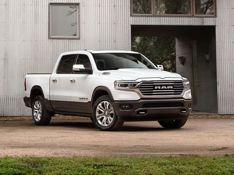 The rugged exterior of the 2020 RAM 1500