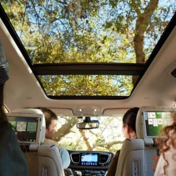 2018 Chrysler Pacifica Sunroof