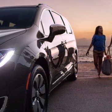 2018 Chrysler Pacifica At Beach