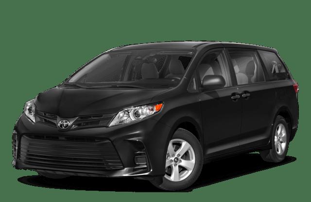 2018 Toyota Sienna Black