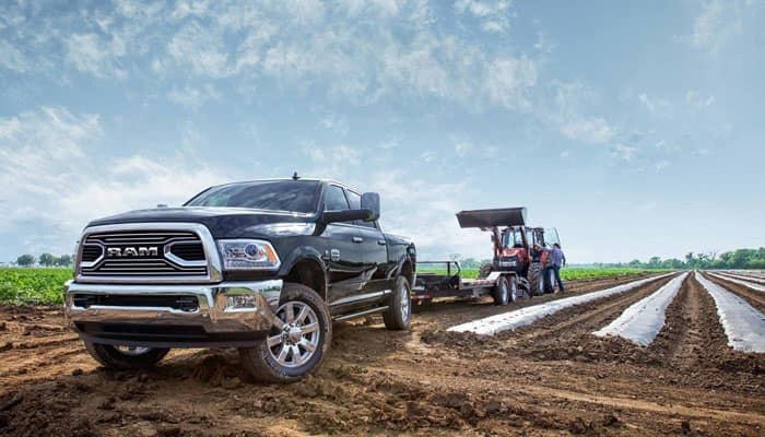 2018 Ram 2500 Towing Farm Equipment