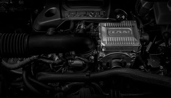 2019 Ram 1500 eTorque Engine Open Hood