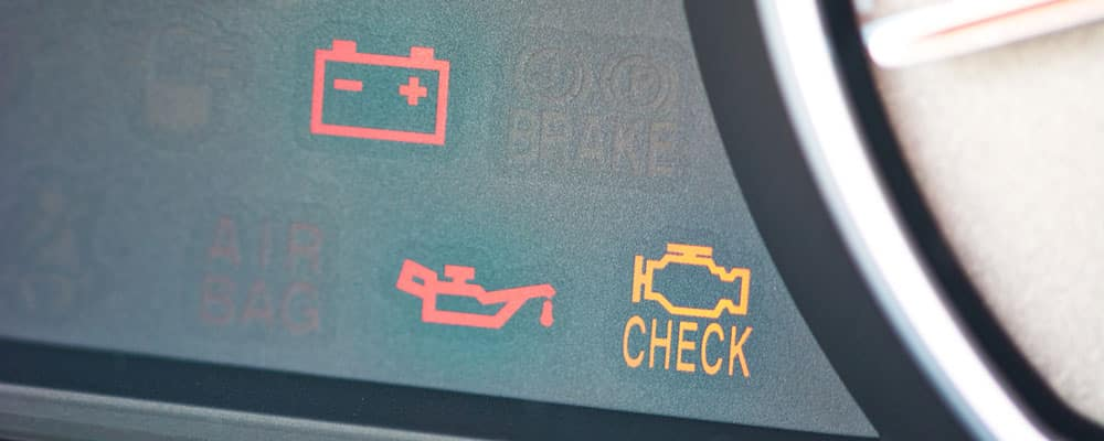 Check Engine Dashboard Icon
