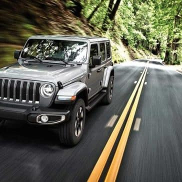 2019 Jeep Wrangler Driving