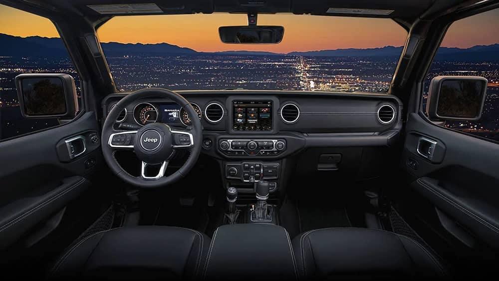 2019 Jeep Wrangler Dash