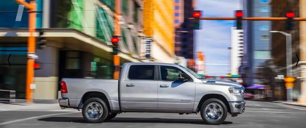 2019 RAM 1500 Driving Through City