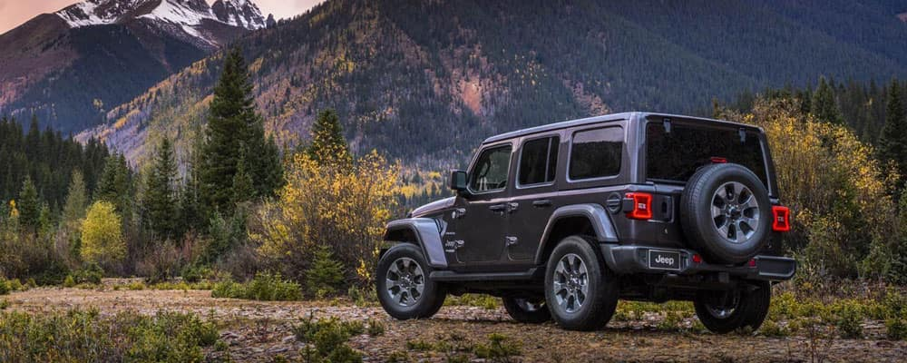 2019 Jeep Wrangler Parked Outdoors