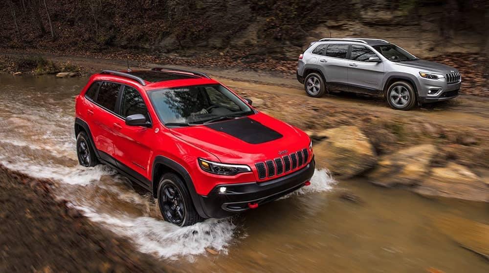 2019 Jeep Cherokee Trims