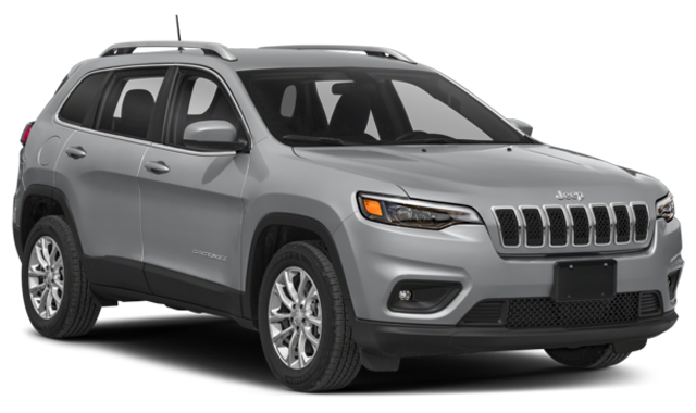 Silver 2019 Jeep Cherokee