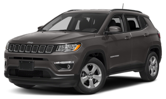Dark gray 2019 Jeep Compass