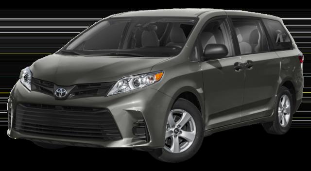 2019 Toyota Sienna Gray