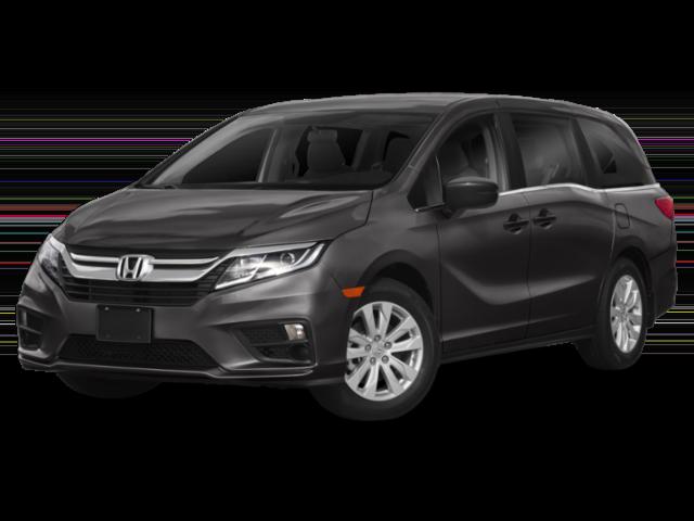 Dark gray 2019 Honda Odyssey