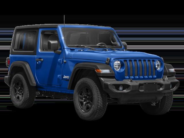 Blue 2019 Jeep Wrangler Sport