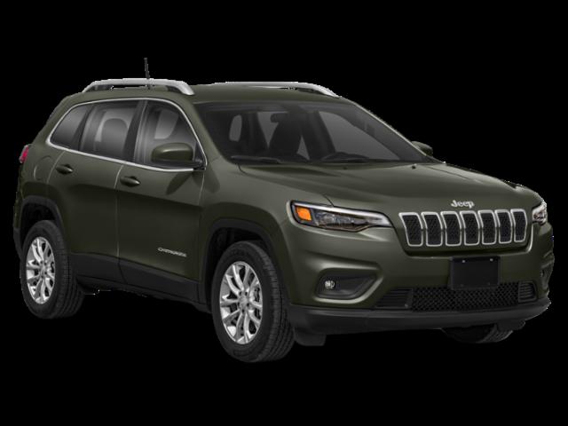 Olive green 2020 Jeep Cherokee
