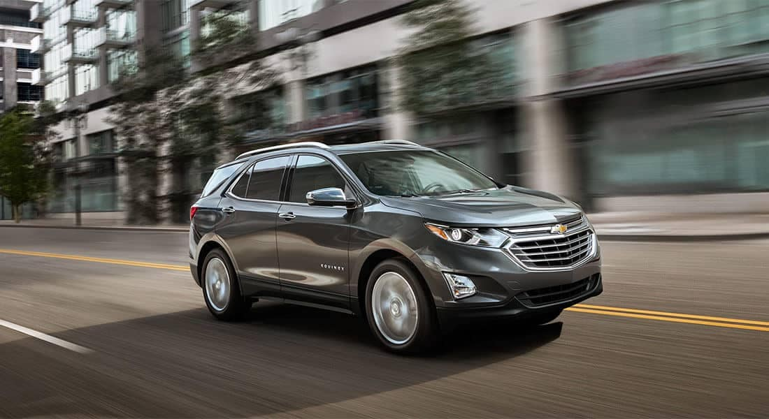 2018 Chevrolet Equinox Driving