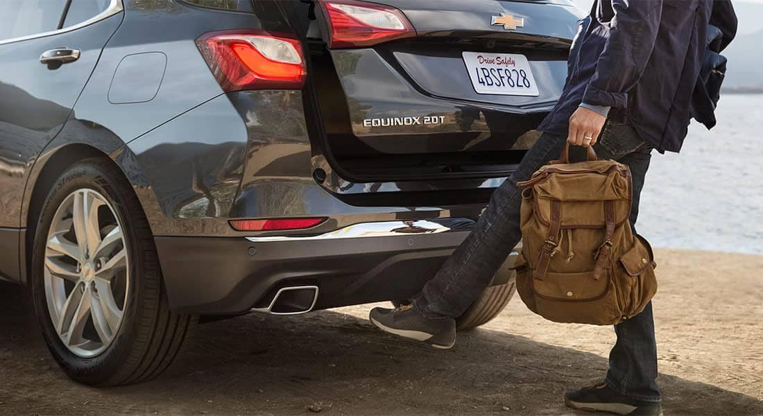 2018 Chevrolet Equinox Trunk Open Feature