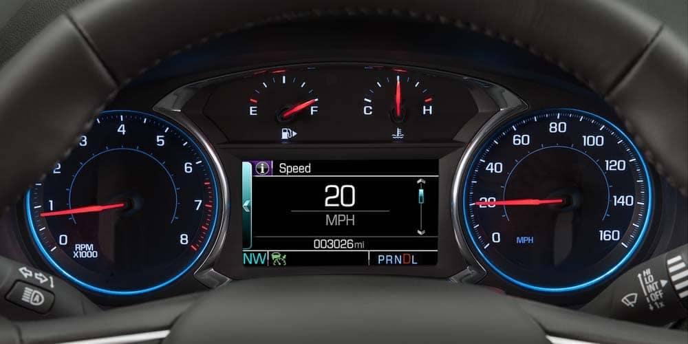2018 Chevrolet Malibu instrument panel