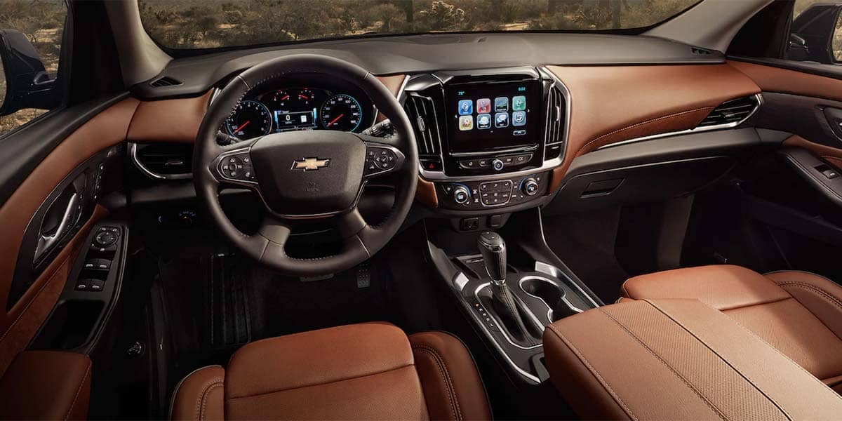 2018 Chevrolet Traverse Interior
