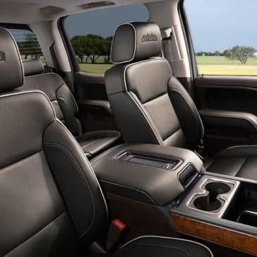 2018 Chevy Silverado 1500 seating